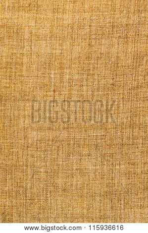 Background of brown burlap
