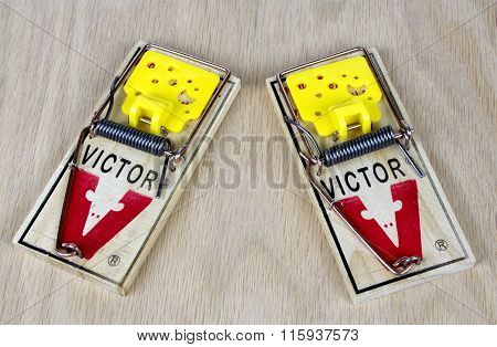 Two Mouse Traps