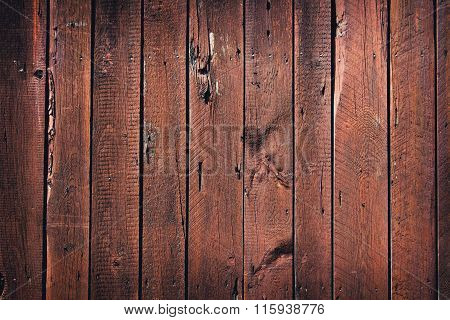 Rustic  Style Brown Wood Background.