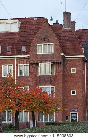 Amsterdam School Facade