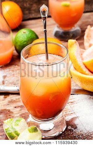 Glass Of Refreshing Juice