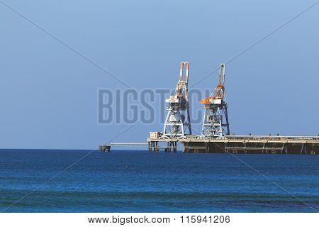 Marine Terminal, Mediterranean Sea, Israel, Cesaria