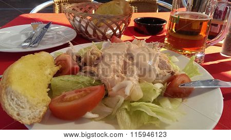 Chicken Salad And Beer