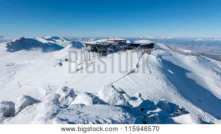 Hill Chopok In Low Tatras, Slovakia