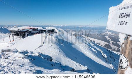 Ski Resort Jasna In Low Tatras Mountains, Slovakia
