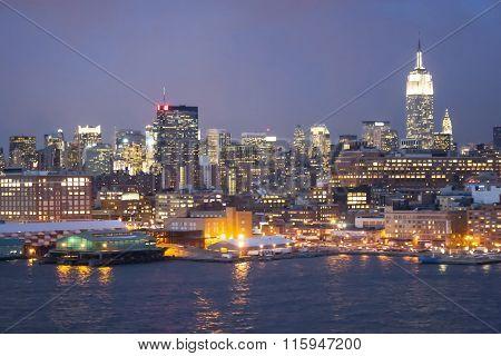 Midtown Manhattan Waterfont