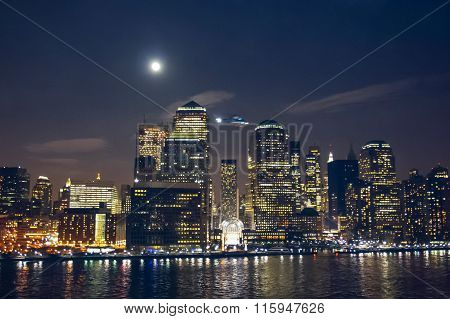 Financial District In New York City