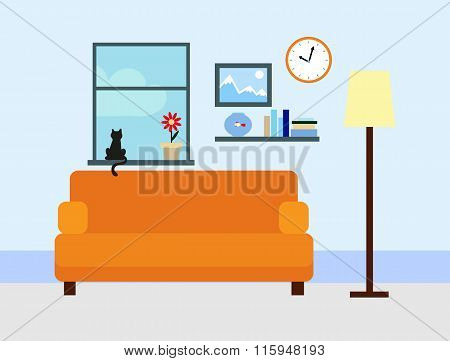Flat Room