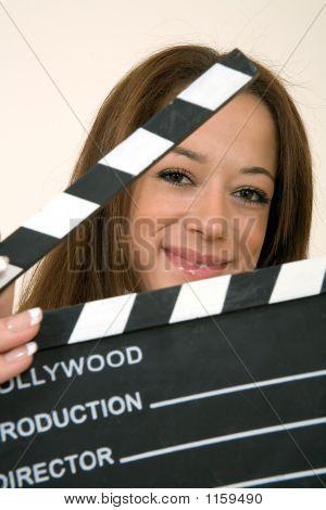 Clapperboard Girl