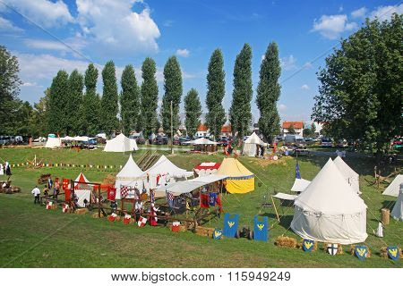 Renaissance Fair In Koprivnica, Croatia