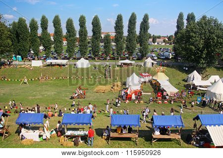 Renneissance Fair In Koprivnica, Croatia