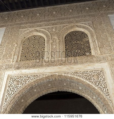 Alhambra Facade Of The Golden Room