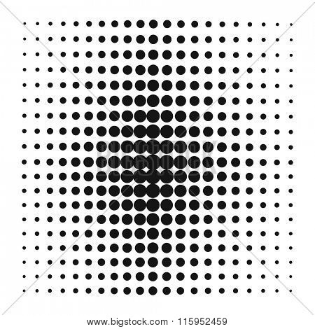 Pop Art style vector black dots or pop art background elements. Pop Art grid dots illustration. Comic style bubble background template