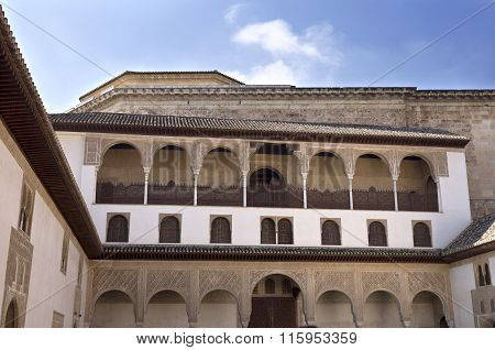 Alhambra Court Of The Myrtles North Portico
