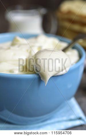 Vanilla Milk Custard.