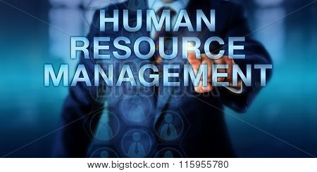 Manager Pressing Human Resource Management