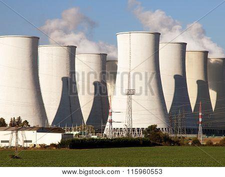 Nuclear Power Plant Jaslovske Bohunice - Slovakia