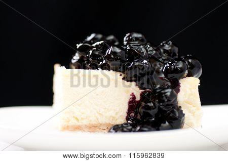 Vanilla Blueberry Cheesecake