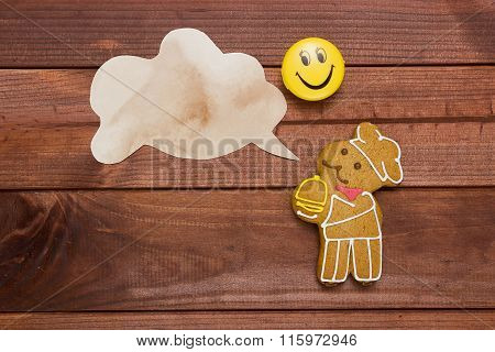 Cookies In The Shape Of Man