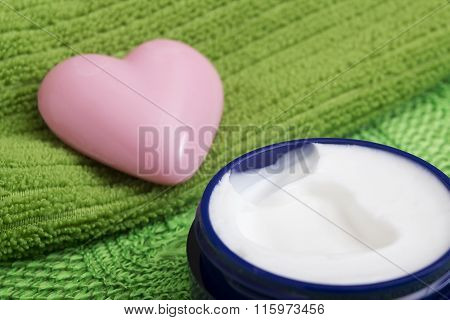 Soap In The Shape Of A Heart