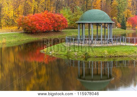 Park, Autumn, Nature, Panorama, Landscape, Garden, Colorful Tree