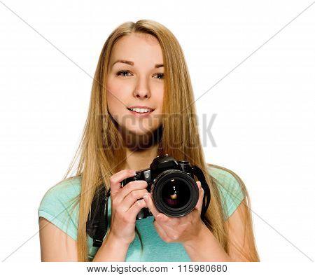 beauty girl photographer