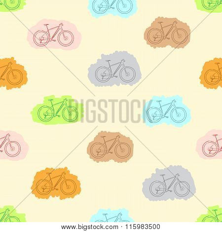 Seamless painted bicycles