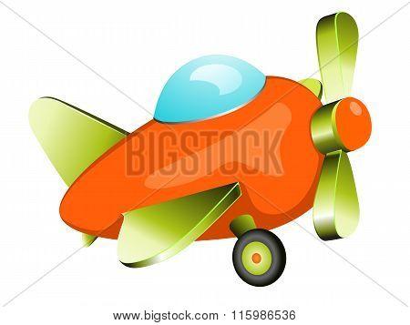 Retro plane toy