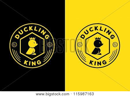 Duckling King Logo