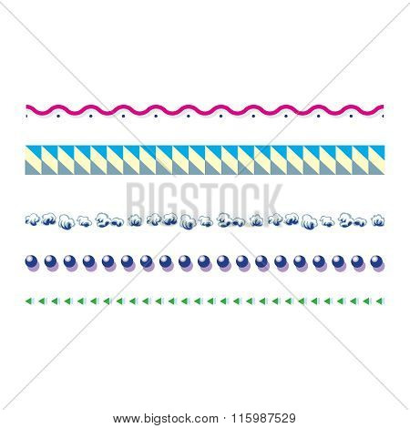 Vector Seamless Repeating Pattern Illustration Collection
