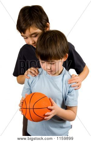 Two Brothers And Basketball