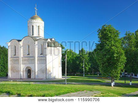 Cathedral of Saint Demetrius  in Vladimir, Russia