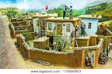 The Diorama Of The Rural Life