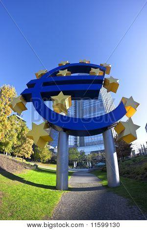 Euro und Sternen