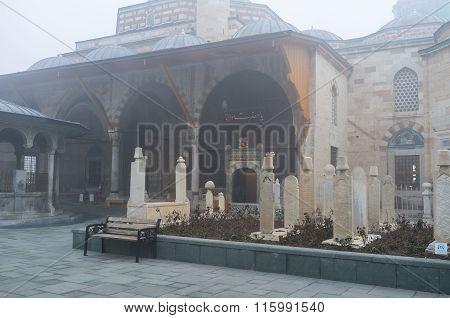 The Mevlana Mausoleum Entrance