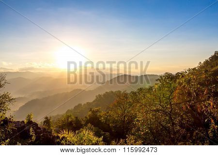 Doi Hua Mod, Umphang District, Tak Province, Thailand