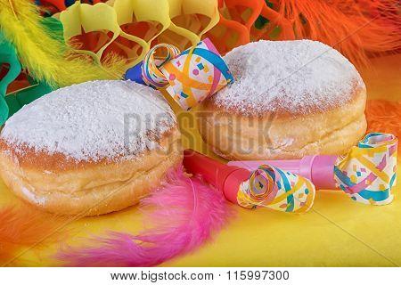 Berliner Donuts Doughnut or Krapfen