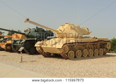Latrun, Israel - April 02, 2010: M47 Patton