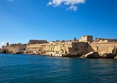 pic of olden days  - View of Valletta from Grand Harbour - JPG