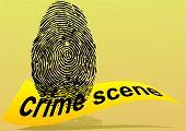 Постер, плакат: Crime Scene