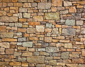 picture of stone floor  - Background of stone wall texture  - JPG