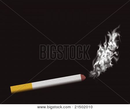 Background, card for smokers