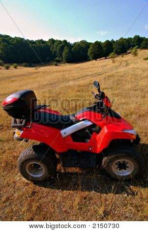 Quad Bike  Vertical Side