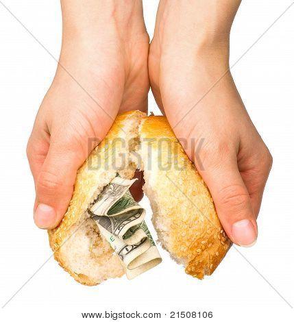 Bun Stuffed With Money
