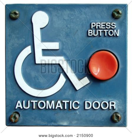Automatic Door Button