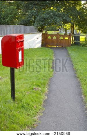English Village Post Box