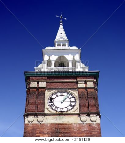 Broken Clock Tower