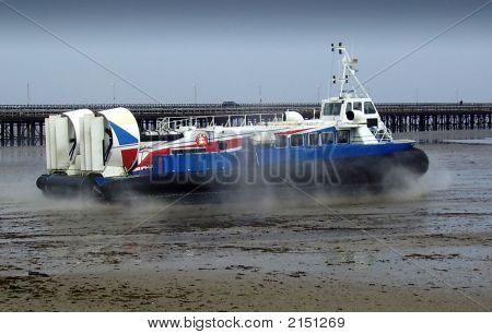 Hovercraft Taking Off