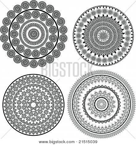 Mandala-Entwürfe
