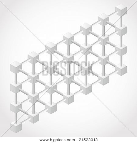 White Design Element